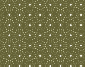 Quilt Fabric, In The Woods, Seeds, Dark Green, 100% Cotton, Quilters Cotton, Cotton Fabric, Premium Cotton, Alisse Courter, Camelot Fabrics