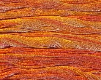 Gentle Art, Sampler Threads, Bittersweet, #0570, 10 YARD Skein, Embroidery Floss, Counted Cross Stitch, Hand Embroidery Thread