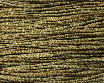 Weeks Dye Works, Confederate Gray, WDW-1173, 5 YARD Skein, Hand Dyed Cotton, Embroidery Floss, Counted Cross Stitch, Embroidery, PunchNeedle
