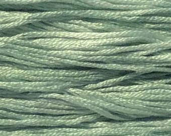 Classic Colorworks, Frosted Sage, CCT-068, 5 YARD Skein, Hand Dyed Cotton, Embroidery Floss, Counted Cross Stitch, Hand Embroidery Thread