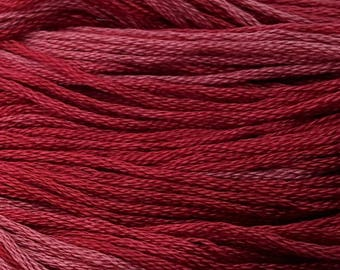 Classic Colorworks, Ladybug, CCT-190, 5 YARD Skein, Hand Dyed Cotton, Embroidery Floss, Counted Cross Stitch, Hand Embroidery Thread