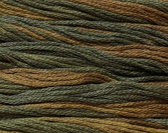 Classic Colorworks, Hayride, CCT-244, 5 YARD Skein, Hand Dyed Cotton, Embroidery Floss, Counted Cross Stitch,Hand Embroidery Thread