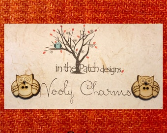 Wool, Wooly Charms, Felted Wool, Wool Charm Packs, Punkin, Overdyed Wool, Wool Applique, Herringbone Wool, In the Patch Designs