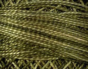 126 Deep Gray #12 Valdani Pearl Cotton Solid Wool Applique Punch Needle