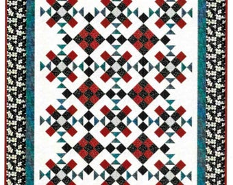 Quilt Pattern, Lofty Dreams, Pieced Quilt, Cottage Chic Decor, Throw Quilt, Little Louise Designs, Patchwork Passion, PATTERN ONLY