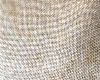 32 Count Linen, Chocolate Milk, Linen, Counted Cross Stitch, Cross Stitch Fabric, Embroidery Fabric, Linen Fabric, Fabrics by Stephanie