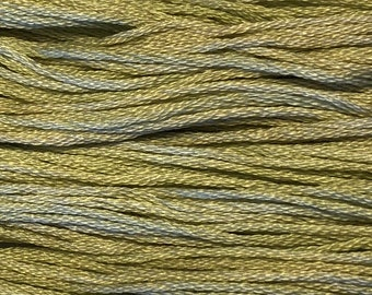 Classic Colorworks, Dandelion Stem, CCT-119, 5 YARD Skein, Hand Dyed Cotton, Embroidery Floss, Cross Stitch, Hand Embroidery Thread