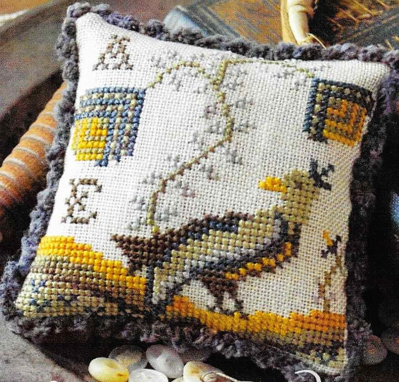 Counted Cross Stitch Fragments in Time 2017 No 1 Cross image 0