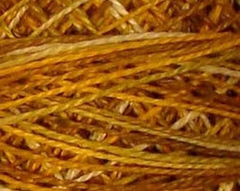 Valdani 3 Strand, V106, Antique Gold, Cotton Floss, Punch Needle, Embroidery, Penny Rugs, Wool Applique, Cross Stitch, Tatting, Hardanger