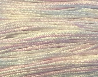 Weeks Dye Works, Snowflake, WDW-4125, 5 YARD Skein, Cotton Floss, Embroidery Floss, Counted Cross Stitch, Hand Embroidery, PunchNeedle