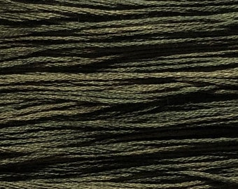 Weeks Dye Works, Terrapin, WDW-1274, 5 YARD Skein, Cotton Floss, Embroidery Floss, Counted Cross Stitch, Hand Embroidery, Punch Needle
