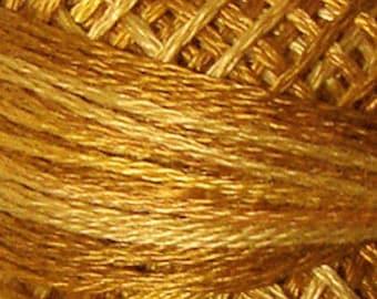 Valdani Thread, Size 8, O571, Valdani Perle Cotton, Tea Honey,  Embroidery Thread, Punch Needle, Embroidery, Penny Rugs, Sewing Accessory