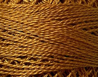 Valdani Thread, Size 12, 14, Deep Rusty Orange, Perle Cotton, Punch Needle, Embroidery, Penny Rugs, Primitive Stitching, Sewing Accessory