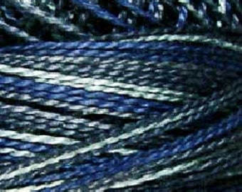 Valdani 3 Strand, P7, Cotton Floss, Withered Blue, Heirloom Collection, Punch Needle, Embroidery, Penny Rugs, Wool Applique, Cross Stitch