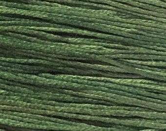 Weeks Dye Works, Verdigris, WDW-1280, 5 YARD Skein, Hand Dyed Cotton, Embroidery Floss, Counted Cross Stitch, Embroidery, PunchNeedle
