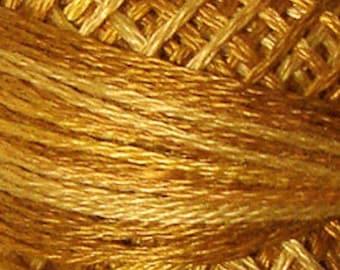 Valdani Thread, Size 12, O571, Valdani Perle Cotton, Tea Honey, Punch Needle, Embroidery, Penny Rugs, Primitive Stitching, Sewing Accessory