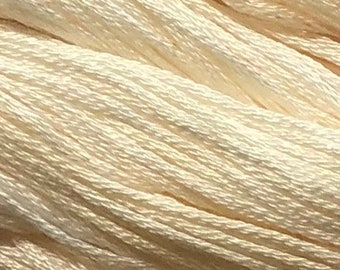 Gentle Art, Simply Shaker Threads, Peach Ice Cream, #0360, 10 YARD Skein, Embroidery Floss, Counted Cross Stitch, Hand Embroidery Thread
