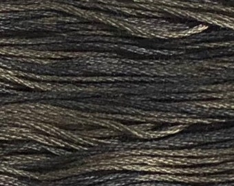 Weeks Dye Works, Pelican Gray, WDW-1302, 5 YARD Skein, Hand Dyed Cotton, Embroidery Floss, Counted Cross Stitch, Embroidery, PunchNeedle