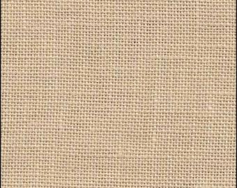 32 Count Linen, Vintage Country Mocha Linen, Belfast Linen, Cross Stitch Fabric, Embroidery Linen, Needlework, Cross Stitch Linen