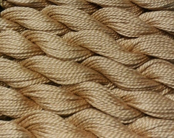 DMC Pearl Cotton, Size 5, DMC 738, Very Light Tan, Perle Cotton, Embroidery Thread, Punch Needle, Embroidery, Sewing Accessory