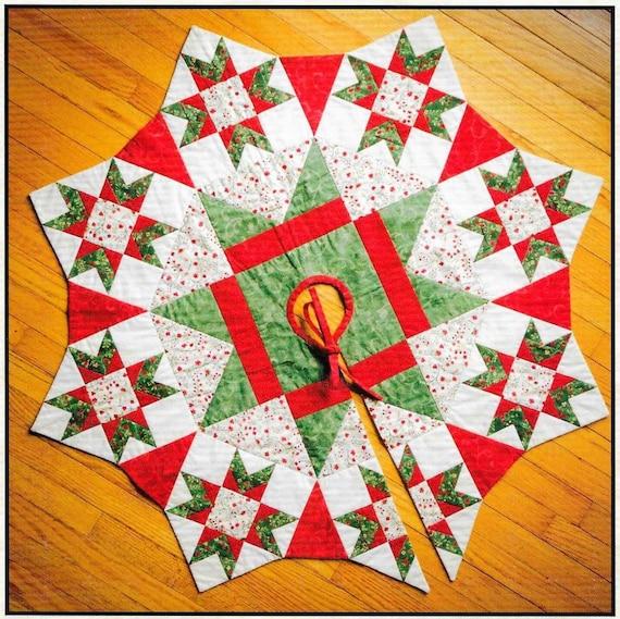 Quilt-Muster die Nacht vor Weihnachten Weihnachtsbaum-Rock | Etsy