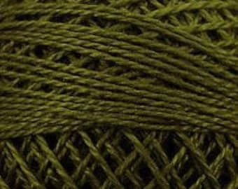 Valdani Thread, Size 8, 191, Forest Haze, Valdani Perle Cotton, Punch Needle, Embroidery, Penny Rugs, Hardanger, Wool Applique, Tatting