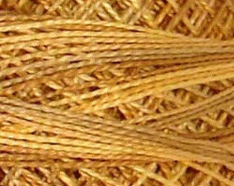 Valdani, Size 8, JP2, Valdani Perle Cotton, Spun Gold, Embroidery Thread, Punch Needle, Embroidery, Penny Rugs, Sewing Accessory