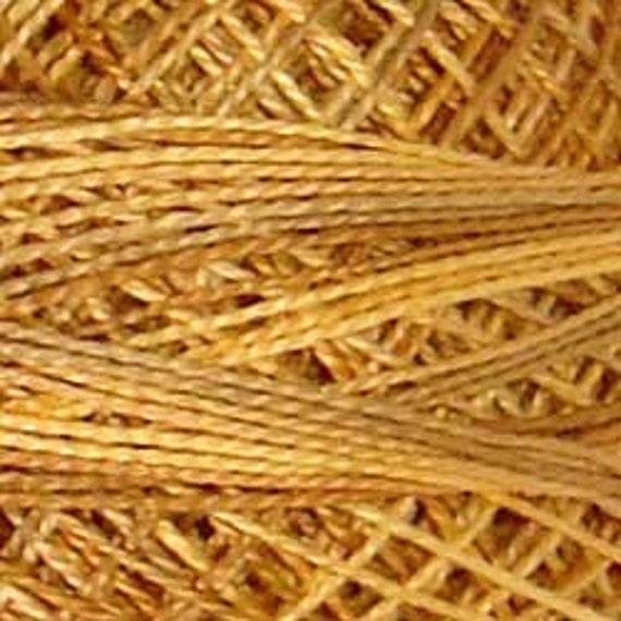 Valdani Size 8 Jp2 Valdani Perle Cotton Spun Gold Etsy