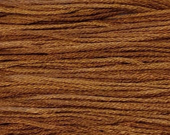 Weeks Dye Works, Bright Leaf, WDW-1227, 5 YARD Skein, Hand Dyed Cotton, Embroidery Floss, Counted Cross Stitch, Hand Embroidery, PunchNeedle