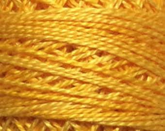 Valdani Thread, Size 12, O12, Perle Cotton, Sunshine Glory, Punch Needle, Embroidery, Penny Rugs, Primitive Stitching, Sewing Accessory