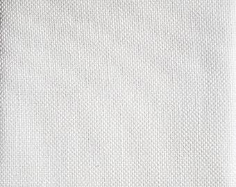 28 ct Monaco, White Monaco, Evenweave Monaco, Counted Cross Stitch, Cross Stitch Fabric, Embroidery Fabric, Evenweave Fabric, Needlework