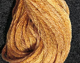 Valdani, 6 Strand Cotton Floss, O505, Toffee, Embroidery Floss , Punch Needle, Embroidery, Penny Rugs, Sewing Accessory