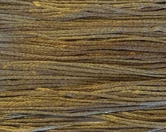 Weeks Dye Works, Driftwood, WDW-1222, 5 YARD Skein, Hand Dyed Cotton, Embroidery Floss, Counted Cross Stitch, Embroidery, PunchNeedle