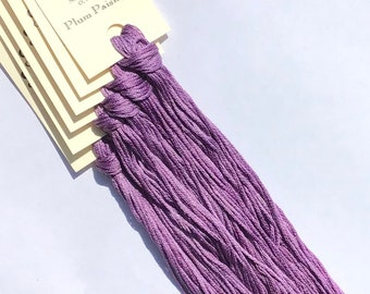 Classic Colorworks, Plum Paisley, CCT-149, 5 YARD Skein, Hand Dyed Cotton, Embroidery Floss, Counted Cross Stitch, Hand Embroidery