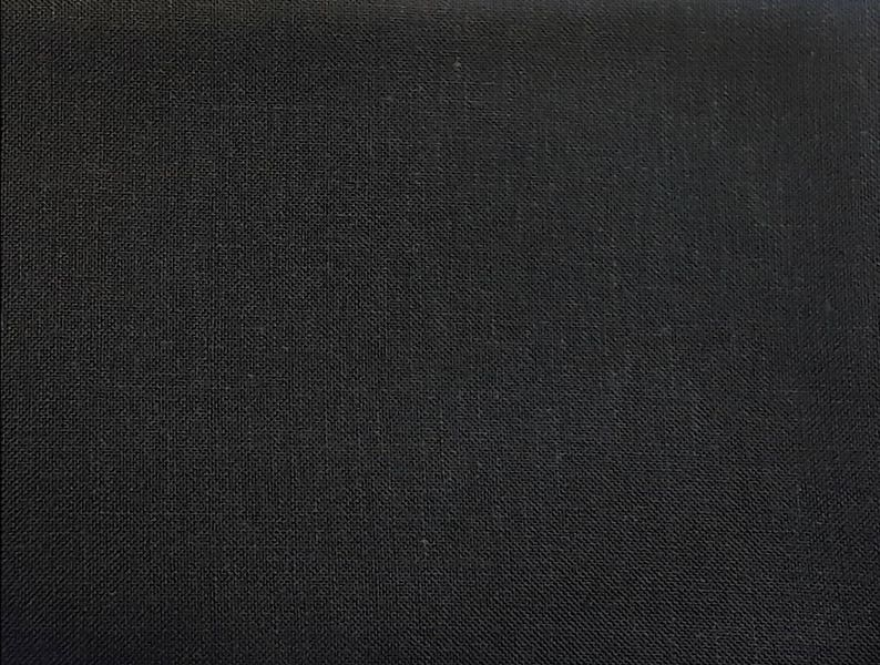 28 Count Linen Chalkboard Black  Cross Stitch Linen Counted image 0