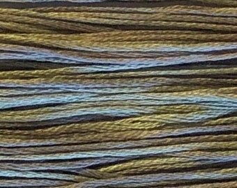 Weeks Dye Works, Seagull, WDW-1300, 5 YARD Skein, Hand Dyed Cotton, Embroidery Floss, Counted Cross Stitch, Hand Embroidery, PunchNeedle
