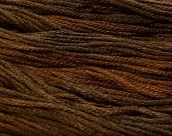 Gentle Art, Sampler Threads, Tarnished Gold, #0410, 10 YARD Skein, Embroidery Floss, Counted Cross Stitch, Hand Embroidery Thread