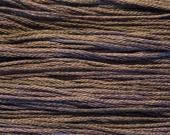 Weeks Dye Works, River Rock, WDW-1288, 5 YARD Skein, Hand Dyed Cotton, Embroidery Floss, Counted Cross Stitch, Embroidery, PunchNeedle
