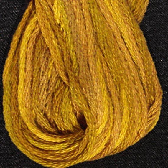Valdani 6 Strand Cotton Floss P5 Tarnished Gold Embroidery Etsy