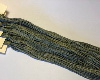 Classic Colorworks, Stormy Night, CCT-248, 5 YARD Skein, Hand Dyed Cotton, Embroidery Floss, Cross Stitch, Hand Embroidery Thread