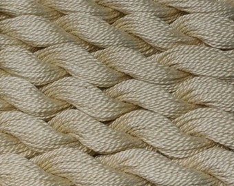 DMC Pearl Cotton, Size 5, Ecru, Perle Cotton, Embroidery Thread, Punch Needle, Penny Rugs, Primitive Stitching, Sewing Accessory