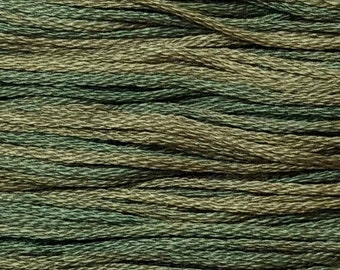 Weeks Dye Works, Kudzu, WDW-2200, 5 YARD Skein, Hand Dyed Cotton, Embroidery Floss, Counted Cross Stitch, Hand Embroidery, PunchNeedle