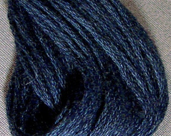 Valdani, 6 Strand Cotton Floss, 872, Dusty Blue Medium, Embroidery Floss, Punch Needle, Embroidery, Penny Rugs, Sewing Accessory