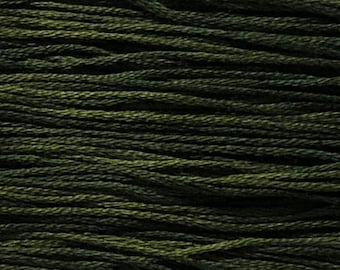 Weeks Dye Works, Juniper, WDW-2158, 5 YARD Skein, Hand Dyed Cotton, Embroidery Floss, Counted Cross Stitch, Embroidery, PunchNeedle