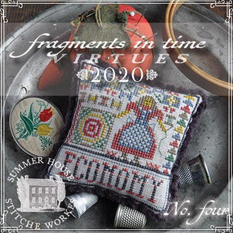 Counted Cross Stitch Pattern Fragments in Time 2020 No 4 image 0