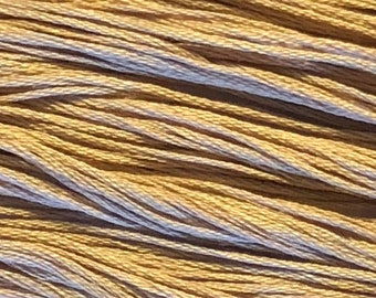 Weeks Dye Works, Sand, WDW-3500, 5 YARD Skein, Hand Dyed Cotton, Embroidery Floss, Counted Cross Stitch, Embroidery, Punch Needle