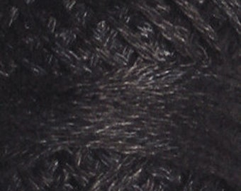 Valdani 3 Strand, O511, Black Sea, Cotton Floss, Punch Needle, Embroidery, Penny Rugs, Wool Applique, Cross Stitch, Tatting, Hardanger