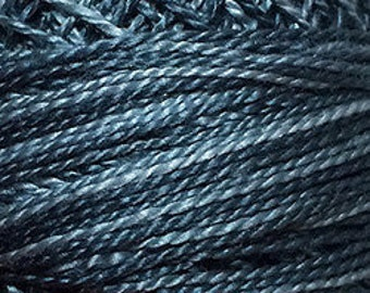 Valdani 3 Strand, O578, Cotton Floss, Primitive Blue, Faded Blue, Punch Needle, Embroidery, Penny Rugs, Primitive Stitching, Wool Applique