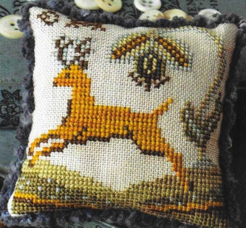 Counted Cross Stitch Cross Stitch Pattern Fragments in Time image 0