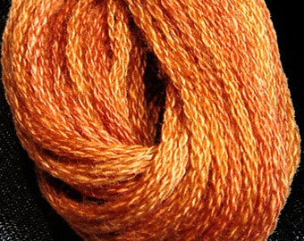 Valdani, 6 Strand Cotton Floss, O506, Cinnamon Swirl, Embroidery Floss , Punch Needle, Embroidery, Penny Rugs, Sewing Accessory